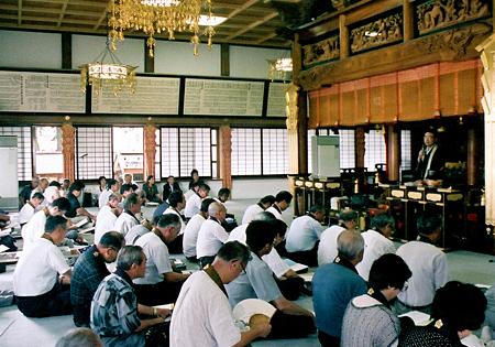 釈尊法会と仏教講座