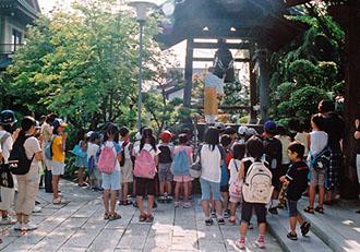 夏休み寺子屋